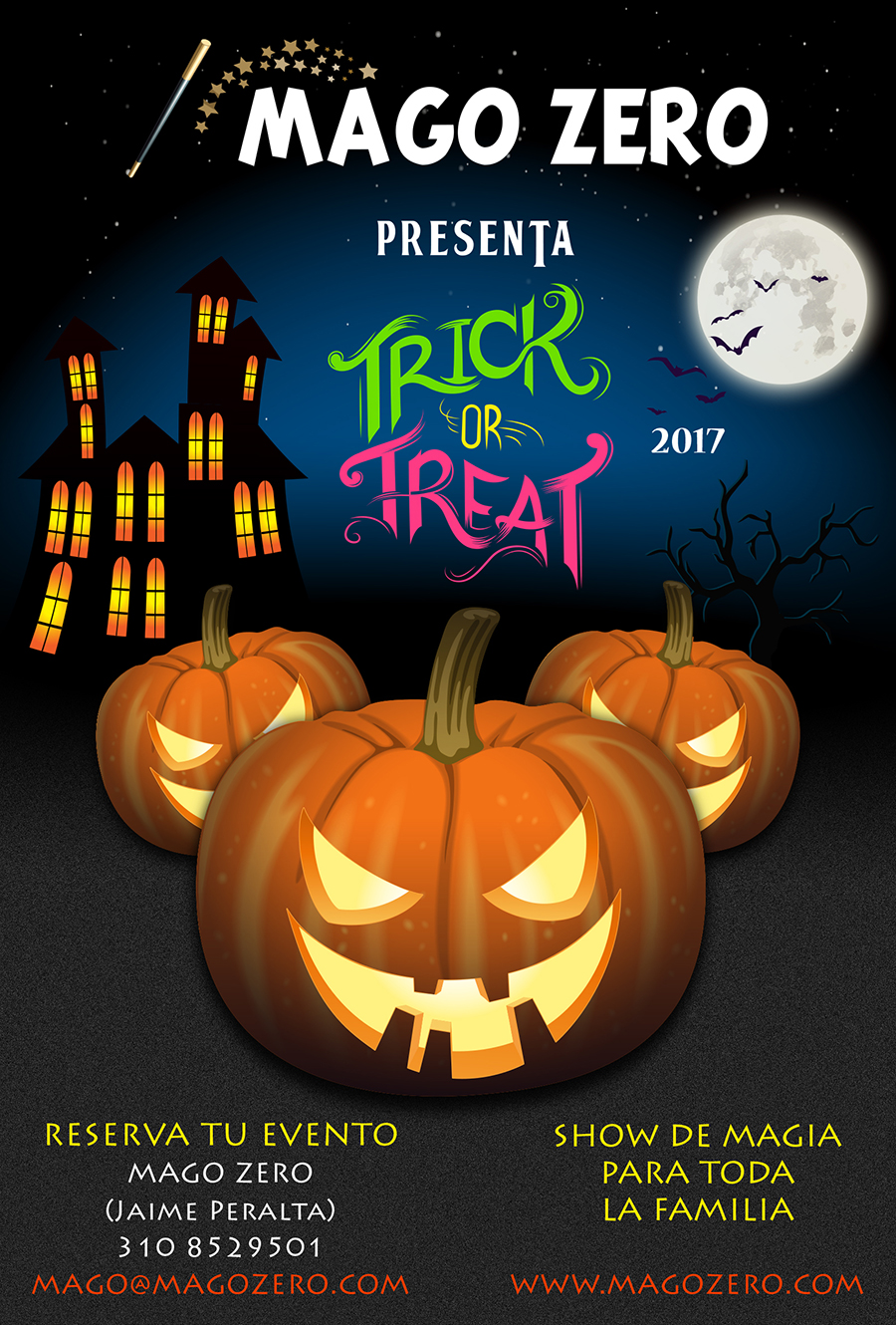Show de magia trick or treat 2017